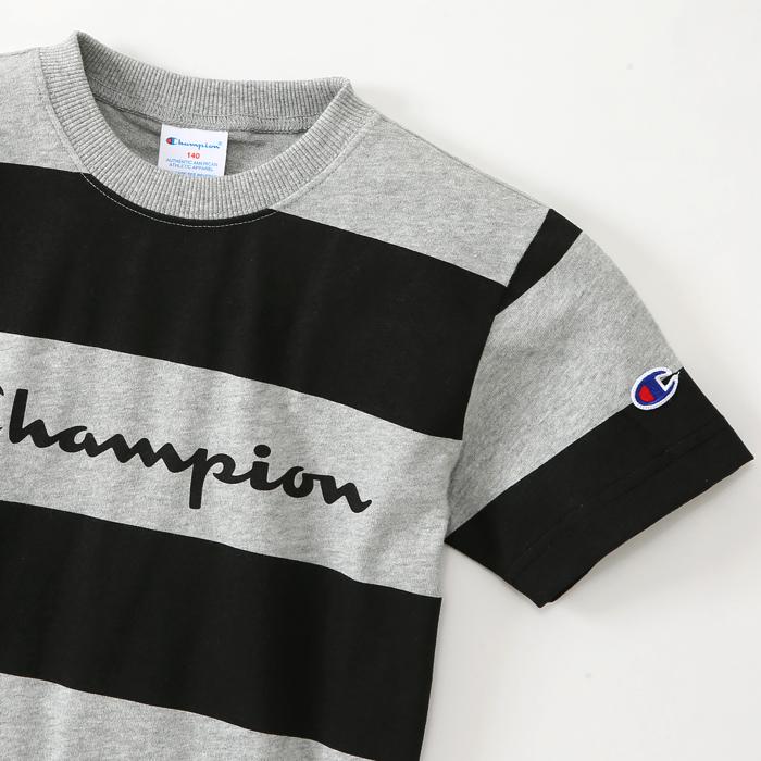 キッズ プリントボーダーTシャツ 17SS チャンピオン(CS4180)