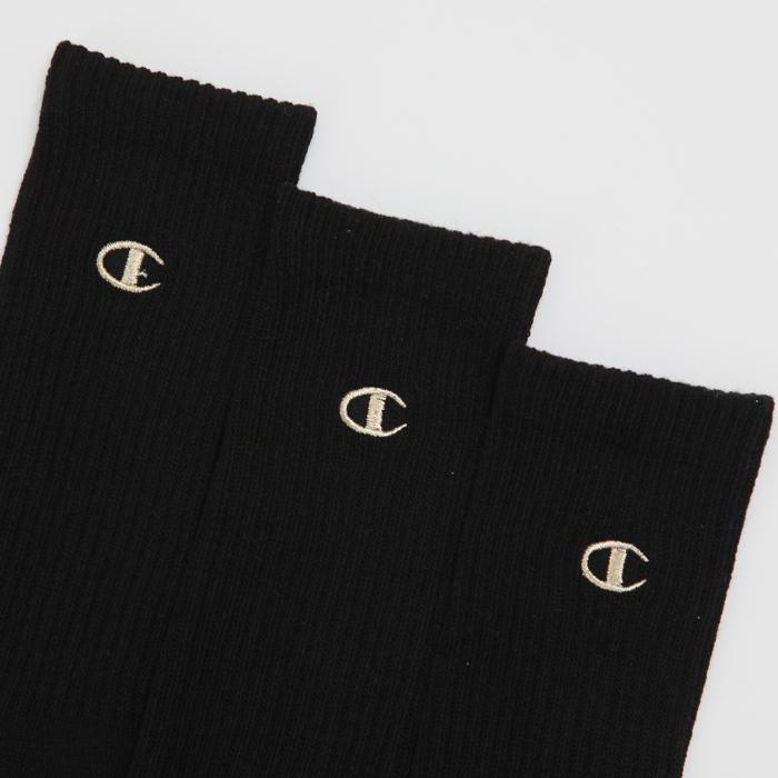 3足組 フルレングスソックス金刺繍 【ハーフパイル】 17FW チャンピオン(C1-1705)