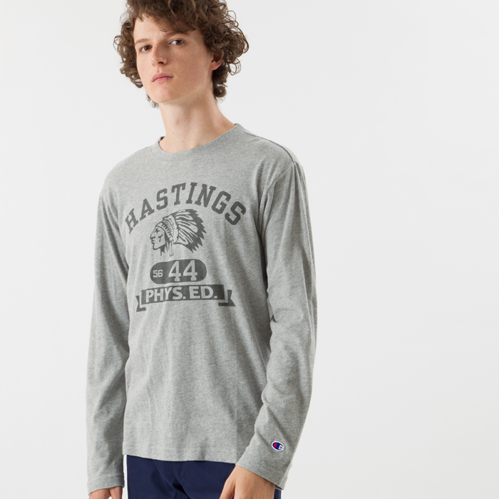 ロングスリーブTシャツ 17FW キャンパス チャンピオン(C3-L409)