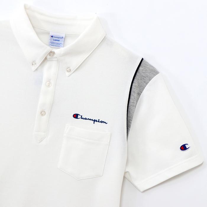 パイピングポロシャツ 17FW 【秋冬新作】GOLF チャンピオン(C3-LS361)