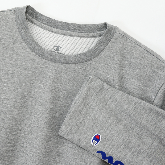 DRYSAVER 3/4スリーブ【7分袖】Tシャツ 17FW アクションスタイル チャンピオン(C3-LS401)