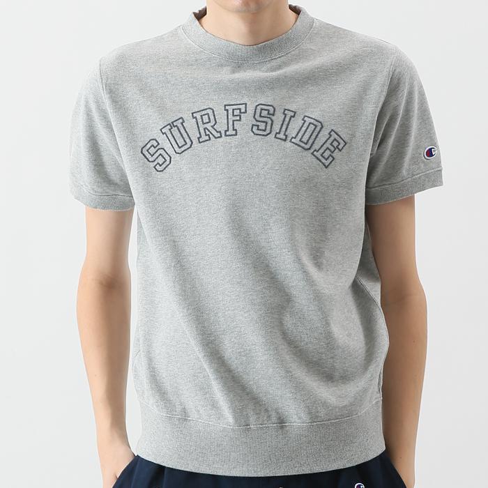 ショートスリーブクルーネックスウェットシャツ 18SS 【春夏新作】キャンパス チャンピオン(C3-M011)
