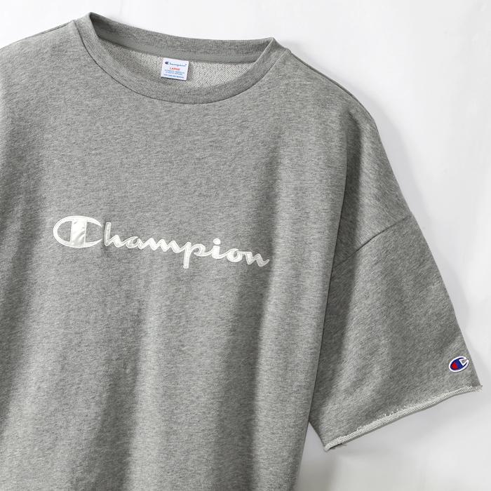 ユニセックス ショートスリーブカットオフスウェットシャツ 18SS 【春夏新作】キャンパス チャンピオン(C3-M016)