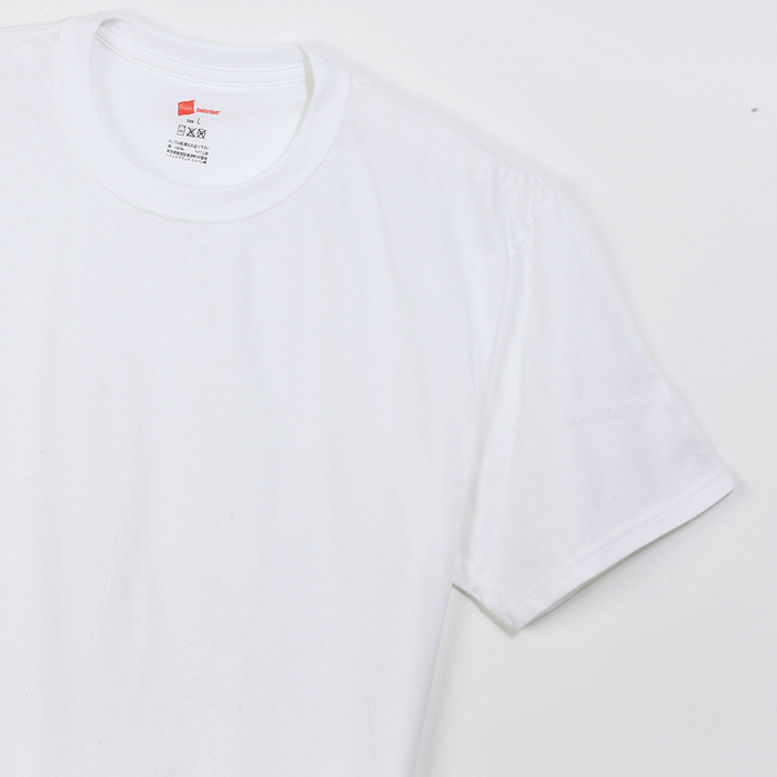 【3枚組】リングスパンクルーネックTシャツ 17FW グローバルバリューライン ヘインズ(HM1EG701)