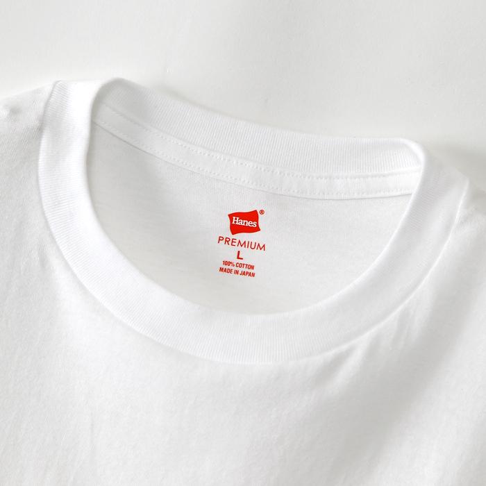 ヘインズ プレミアム クルーネックロングスリーブTシャツ 17FW 【秋冬新作】PREMIUM ヘインズ(HM4-L001)