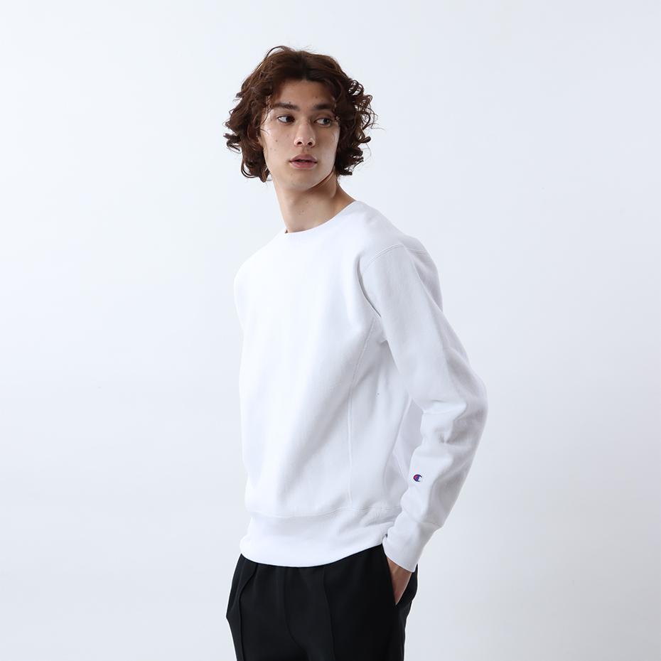 リバースウィーブ(青タグ) クルーネックスウェットシャツ(11.5oz) 17FW リバースウィーブ チャンピオン(C3-W004)