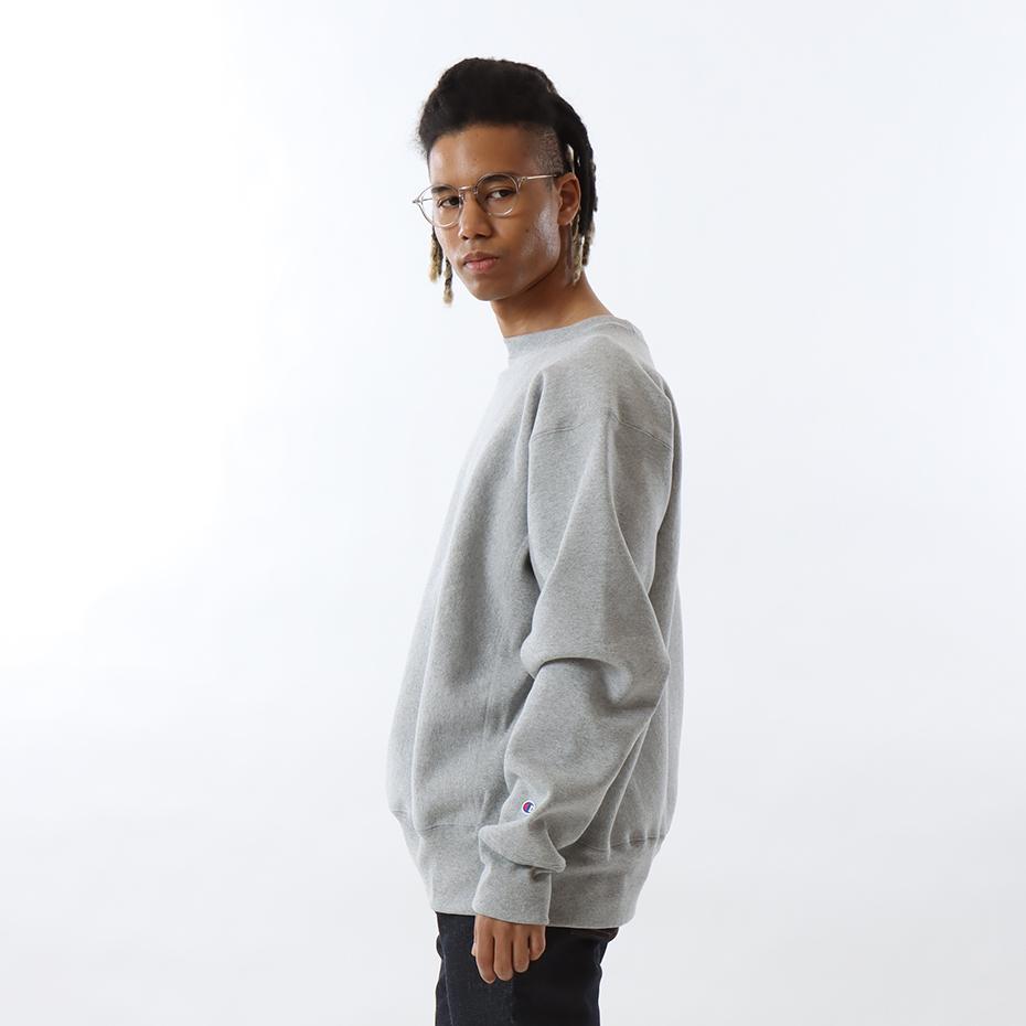 リバースウィーブ(赤タグ)クルーネックスウェットシャツ(12.5oz) 17FW MADE IN USA チャンピオン(C5-U001)