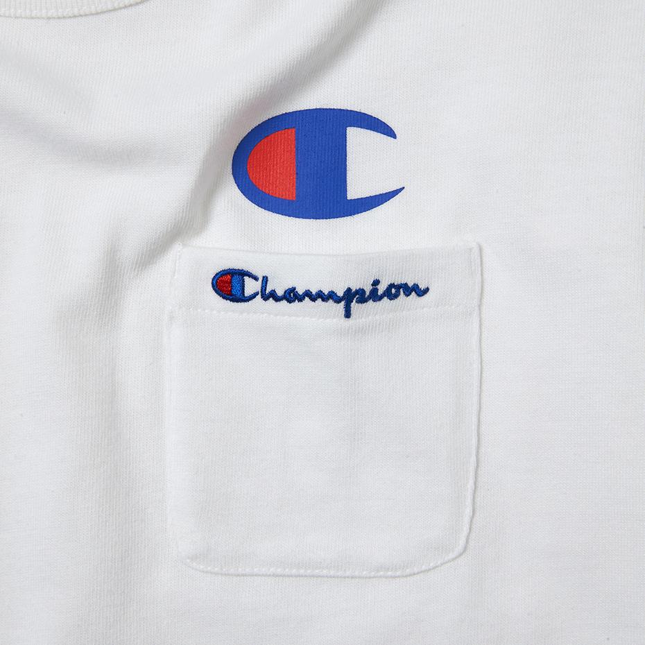 ロゴポケットTシャツ 17SS スタンダード チャンピオン(C8-H304)