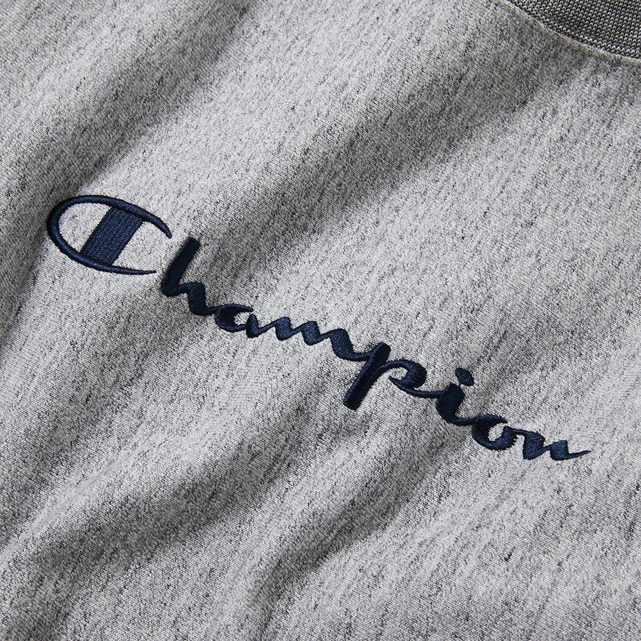 リバースウィーブリブラインクルーネックスウェットシャツ 17FW スタンダード チャンピオン(C8-J002)