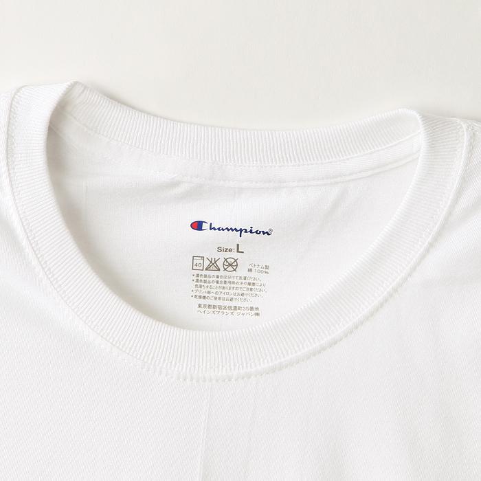 2枚組 リングスパンクルーネックTシャツ 17FW チャンピオン(CM1EH701)