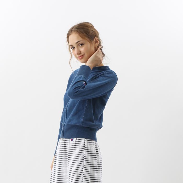 ウィメンズ リバースウィーブジップジャケット 17FW 【秋冬新作】チャンピオン(CW-L406)