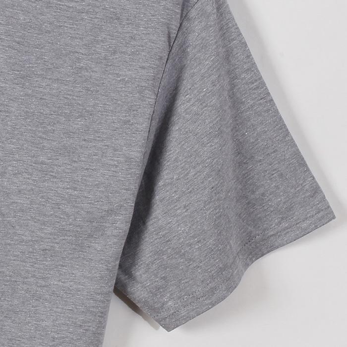 クルーネックTシャツ 17FW レンジャーロール ヘインズ(HM1EH720S)