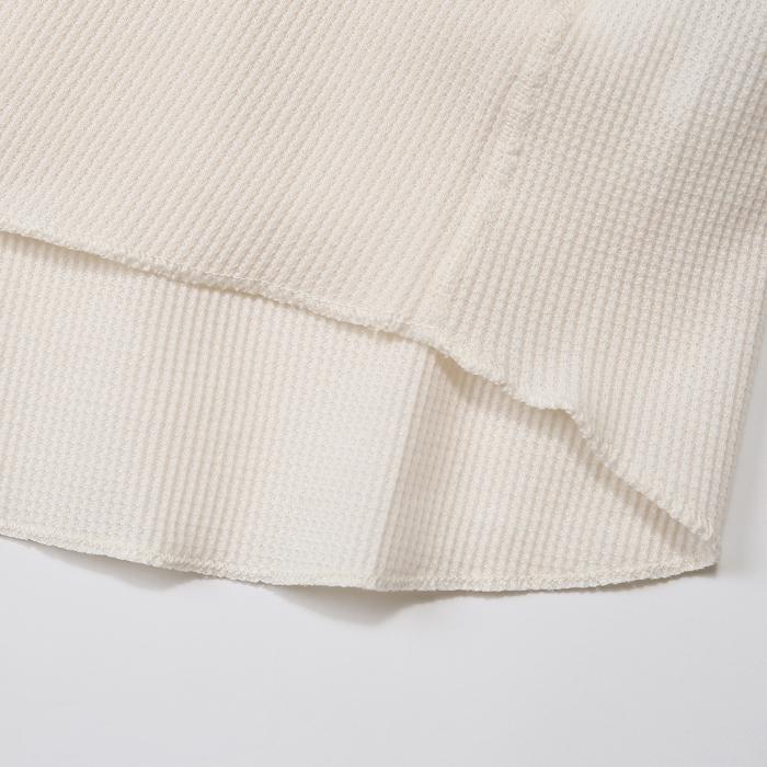 サーマルVネックロングスリーブTシャツ 17FW ヘインズ(HM4-G502)