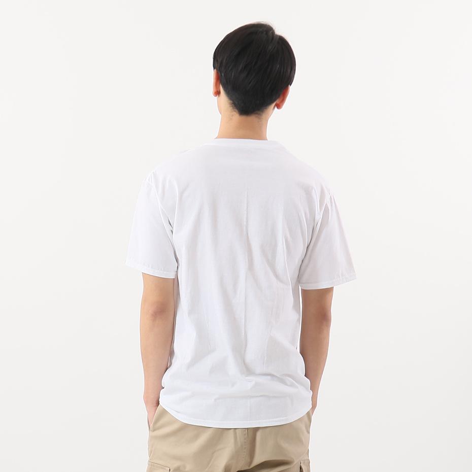 大きいサイズ 【3枚組】オープンエンドVネックTシャツ 17FW グローバルバリューライン ヘインズ(HM1EG753)