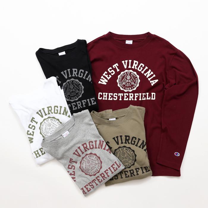 大きいサイズ ロングスリーブTシャツ 17FW キャンパス チャンピオン(C3-L408L)