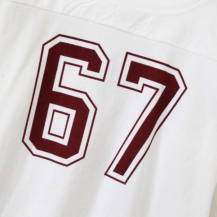 T1011(ティーテンイレブン) ラグラン3/4スリーブ【7分袖】フットボールTシャツ 17FW 【秋冬新作】MADE IN USA チャンピオン(C5-L402)