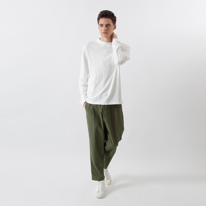 IVY モックポケットTシャツ 17FW 【秋冬新作】スタンダード チャンピオン(C8-L401)