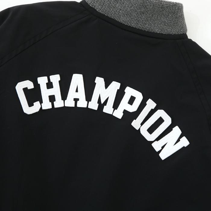 ウィメンズ スナップベースボールジャケット 17FW 【秋冬新作】チャンピオン(CW-L601)