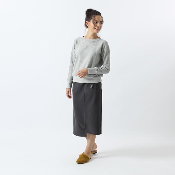 ウィメンズ リバースウィーブクルーネックスウェットシャツ(10oz) 17FW 【秋冬新作】チャンピオン(CW-L005)