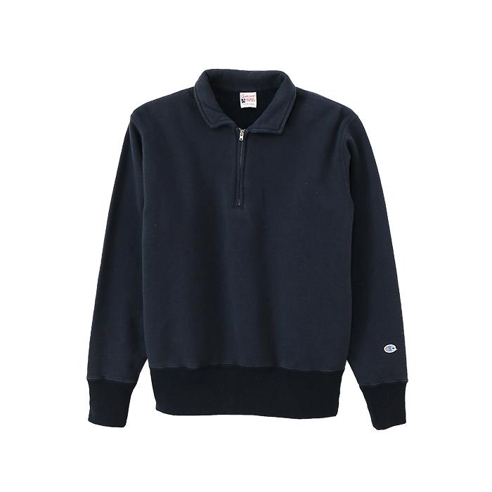 ハーフジップスウェットシャツ 17FW ロチェスター チャンピオン(C3-L010)