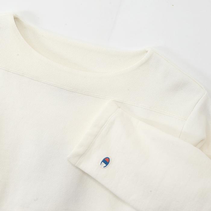 3/4スリーブ【7分袖】ボートネックスウェットシャツ 17FW ロチェスター チャンピオン(C3-L011)