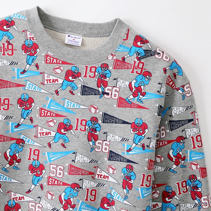 クルーネックスウェットシャツ 17FW 【秋冬新作】スタンダード チャンピオン(C8-L003)
