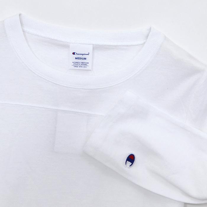 ウィメンズ 3/4スリーブ【7分袖】フットボールTシャツ 17FW チャンピオン(CW-K409)