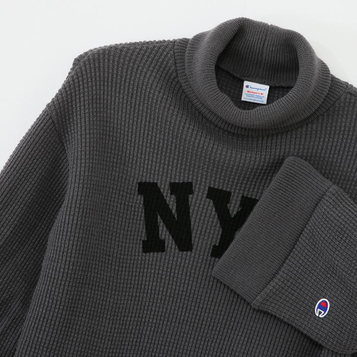 ウィメンズ ハイネックスウェットシャツ 17FW 【秋冬新作】チャンピオン(CW-L011)