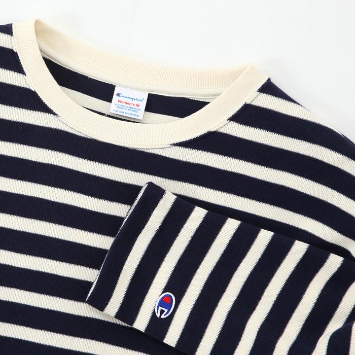 ウィメンズ ロングスリーブTシャツ 17FW 【秋冬新作】チャンピオン(CW-L408)