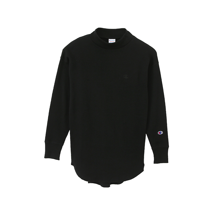 ウィメンズ モックネックロングスリーブTシャツ 17FW チャンピオン(CW-L410)