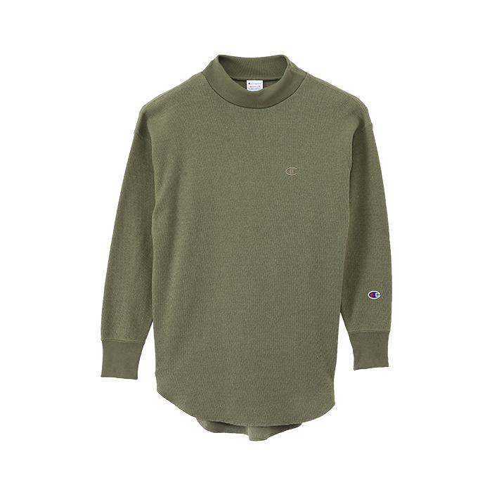 ウィメンズ モックネックロングスリーブTシャツ 17FW 【秋冬新作】チャンピオン(CW-L410)