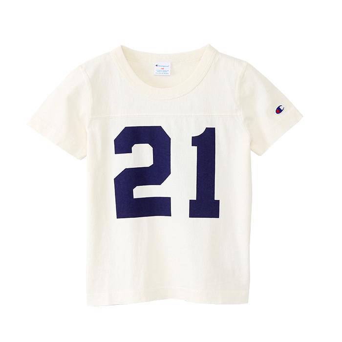キッズ 製品染めフットーボールTシャツ 17SS チャンピオン(CS4188)