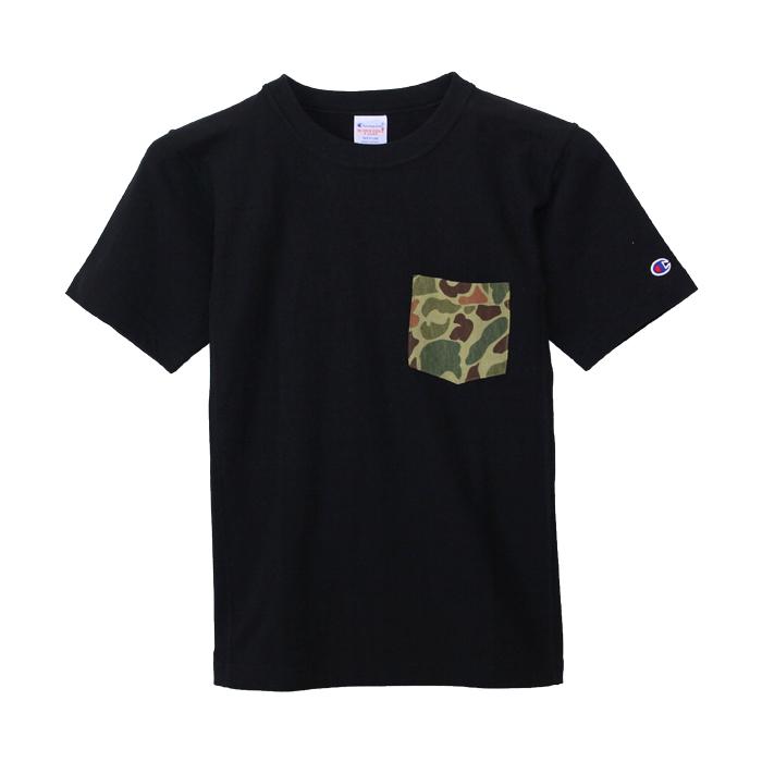 リバースウィーブポケット付きTシャツ 18SS リバースウィーブ チャンピオン(C3-B369)