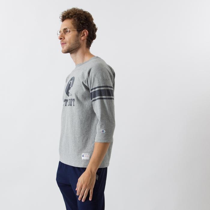 3/4スリーブ【7分袖】フットボールTシャツ 17FW ロチェスター チャンピオン(C3-L405)