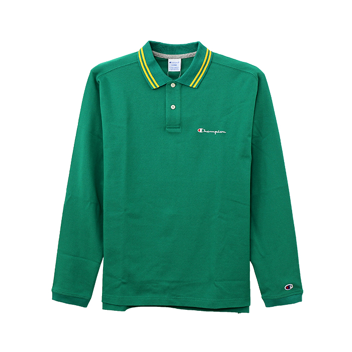 ロングスリーブポロシャツ 17FW GOLF チャンピオン(C3-LS460)