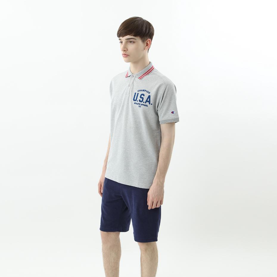 ポロシャツ 18SS 【春夏新作】GOLF チャンピオン(C3-MS308)