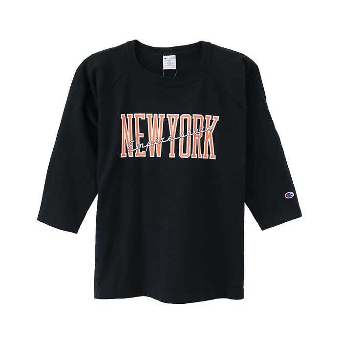 T1011(ティーテンイレブン) ラグラン3/4スリーブ【7分袖】Tシャツ 17FW 【秋冬新作】MADE IN USA チャンピオン(C5-L401)