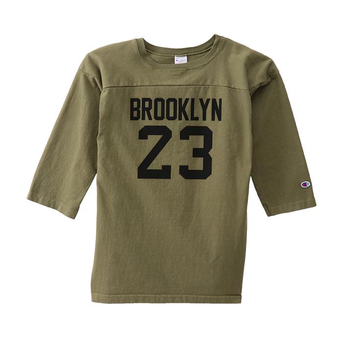 T1011(ティーテンイレブン) ラグラン3/4スリーブ【7分袖】フットボールTシャツ 18SS 【春夏新作】MADE IN USA チャンピオン(C5-M402)