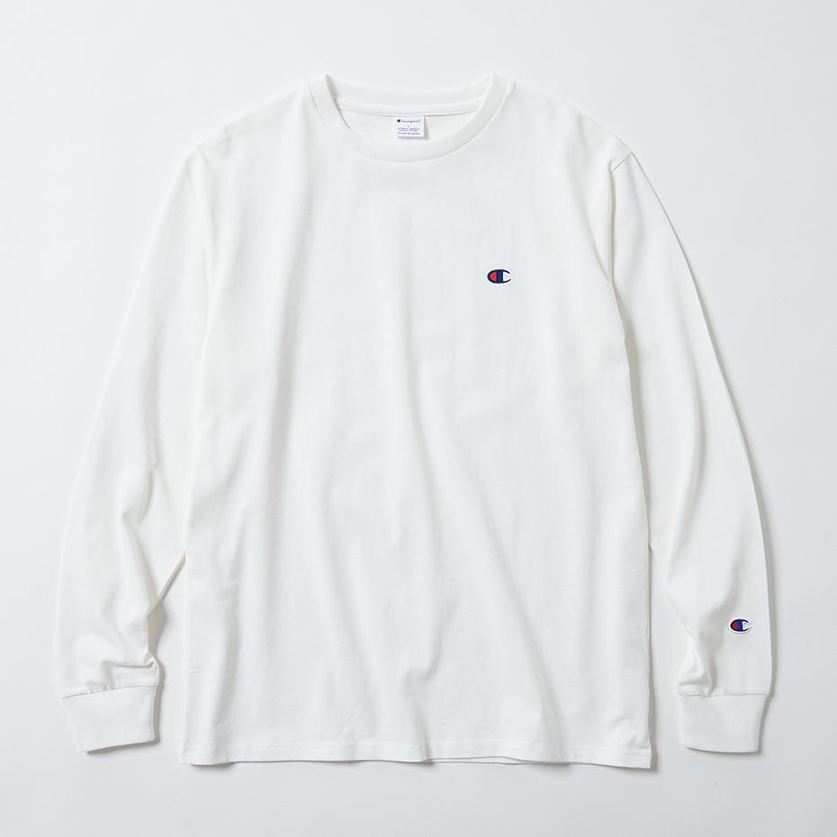 ロングスリーブTシャツ 17FW スタンダード チャンピオン(C8-L404)