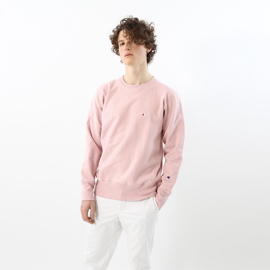 リバースウィーブクルーネックスウェットシャツ 18SS 【春夏新作】スタンダード チャンピオン(C8-M001)