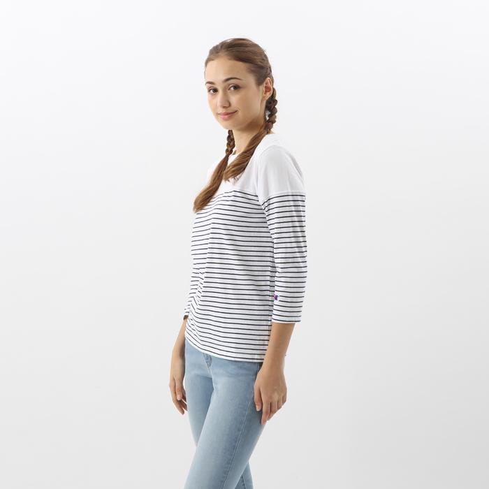 ウィメンズ 3/4スリーブ【7分袖】Tシャツ 17FW チャンピオン(CW-L417)