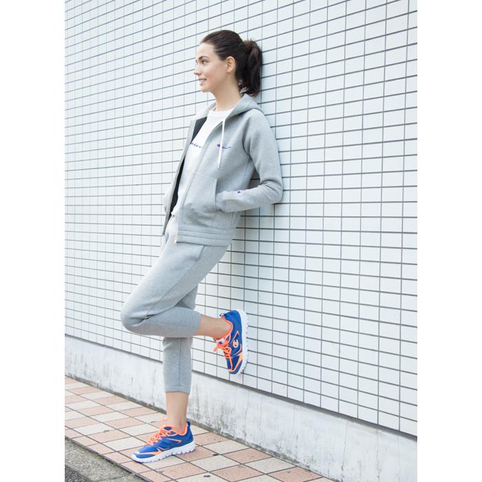 ウィメンズ Wrap-Air ジップフードジャケット 17FW 【秋冬新作】TRAINING チャンピオン(CW-LS101)