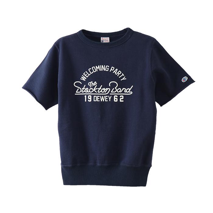 ウィメンズ ショートスリーブスウェットシャツ 18SS 【春夏新作】チャンピオン(CW-M013)