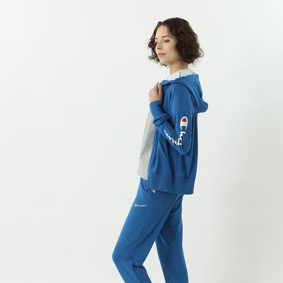 ウィメンズ ジップスウェットパーカー 18SS 【春夏新作】アクティブスタイル チャンピオン(CW-MS105)