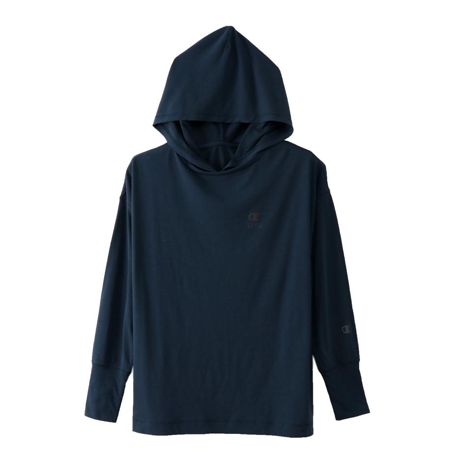 ウィメンズ フードTシャツ 18SS 【春夏新作】CPFU チャンピオン(CW-MS401)
