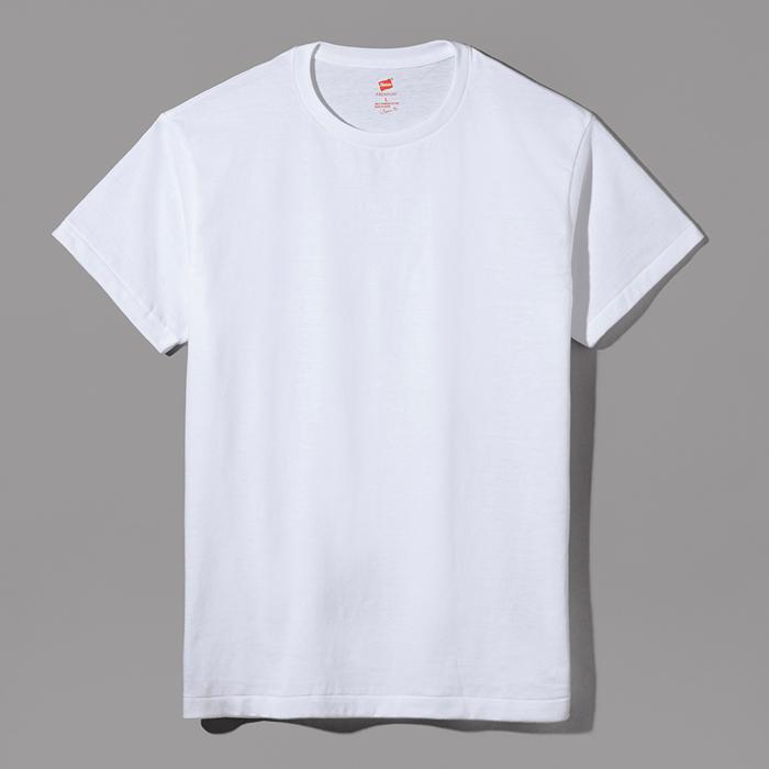 ヘインズ プレミアムジャパンフィット クルーネックTシャツ 18SS PREMIUM Japan Fit(HM1-F001)