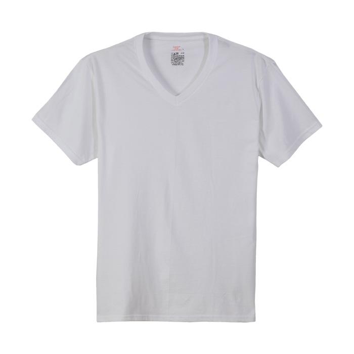 VネックTシャツ 17FW レンジャーロール ヘインズ(HM1EH722S)