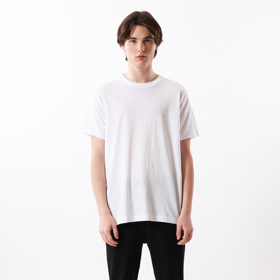 【3枚組】アオラベルクルーネックTシャツ 17FW 青パック ヘインズ(HM2115G)