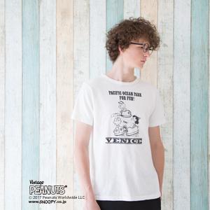 ヴィンテージピーナッツ プリントTシャツ 17MS ロチェスター チャンピオン(C9-K306)
