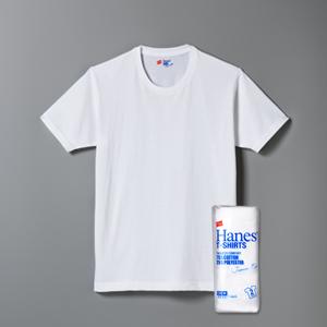 ジャパンフィット ブルーパック【2枚組】クルーネックTシャツ 17FW Japan Fit ヘインズ(H5210)
